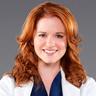 Caterina Scorsone en el papel de Dra. Amelia Shepherd