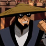 Lord Raiden en el papel de El guardián de la Tierra.