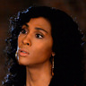 MJ Rodriguez en el papel de Blanca Rodriguez-Evangelista