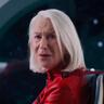 Helen Mirren en el papel de Peg