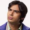 Kunal Nayyar en el papel de Rajesh Koothrappali