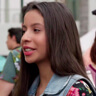 Izabella Alvarez en el papel de Maya Jiménez