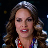 Hilary Swank en el papel de Gail Getty