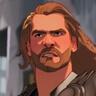Chris Hemsworth en el papel de Thor