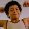 Adrian Groulx en el papel de Johnson de 10 años