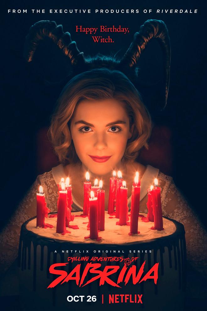 Poster del Programa / Serie: Las Escalofriantes Aventuras de Sabrina