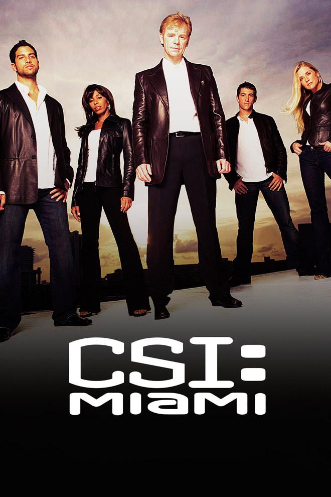 Poster Del Programa Serie Csi Miami