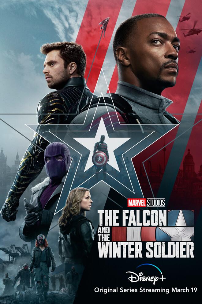 Poster del Serie: Falcon y el Soldado del Invierno