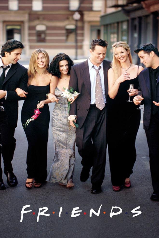 Resultado de imagen de friends serie poster