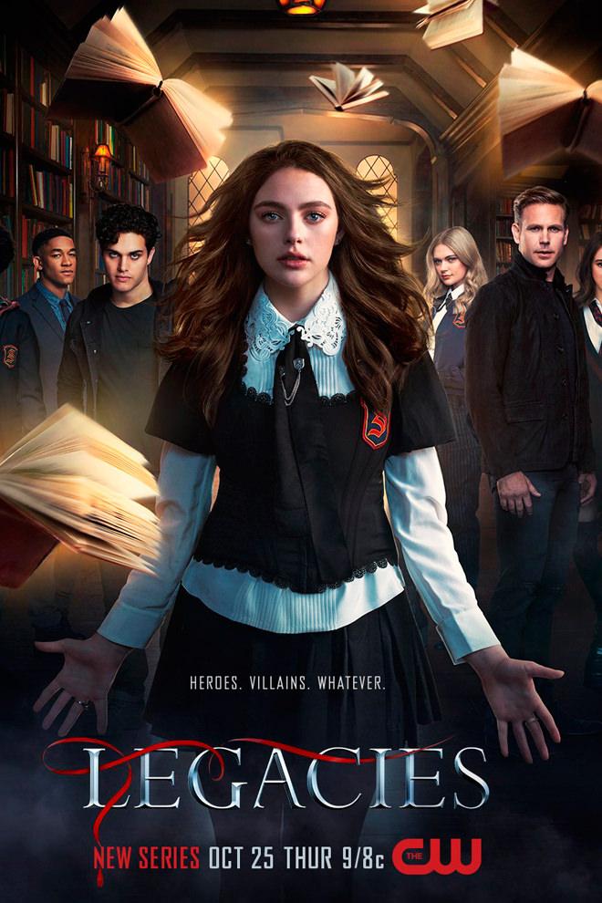 Poster Del Serie Legacies