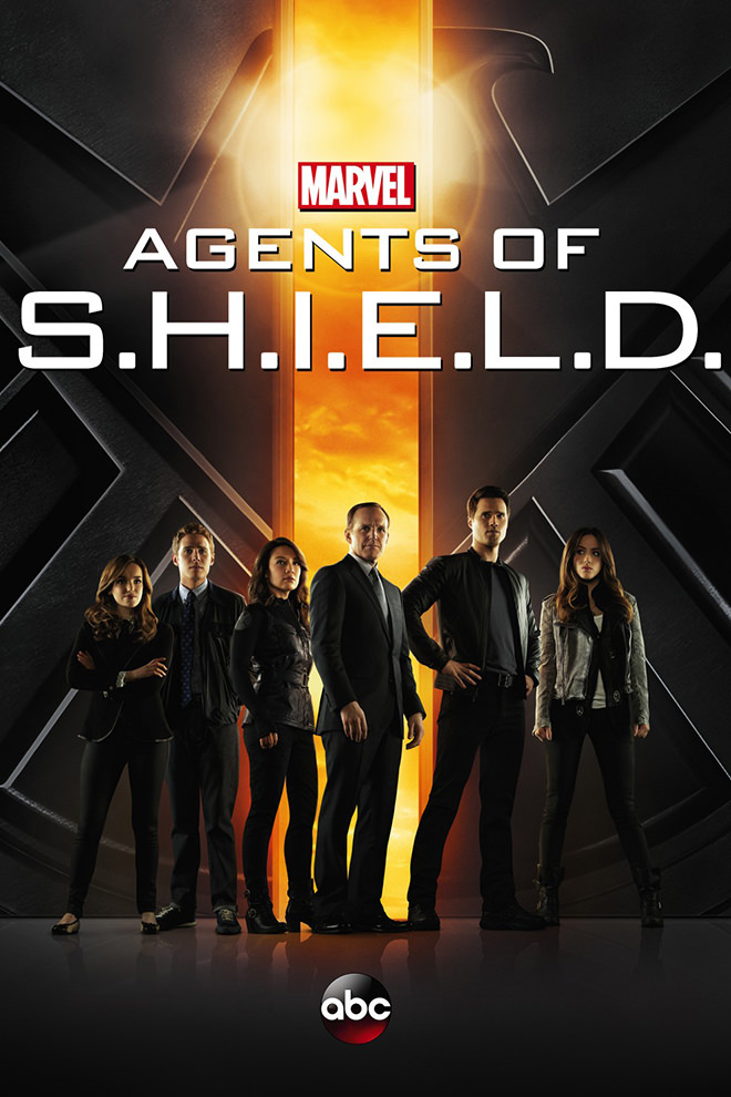 Poster Del Serie Marvel S Agents Of S H I E L D