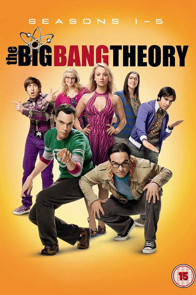Poster Del Serie The Big Bang Theory