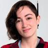 Laura Vignatti en el papel de Daniela Córcega Gómez