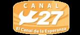 Logo Canal 27 de Guatemala